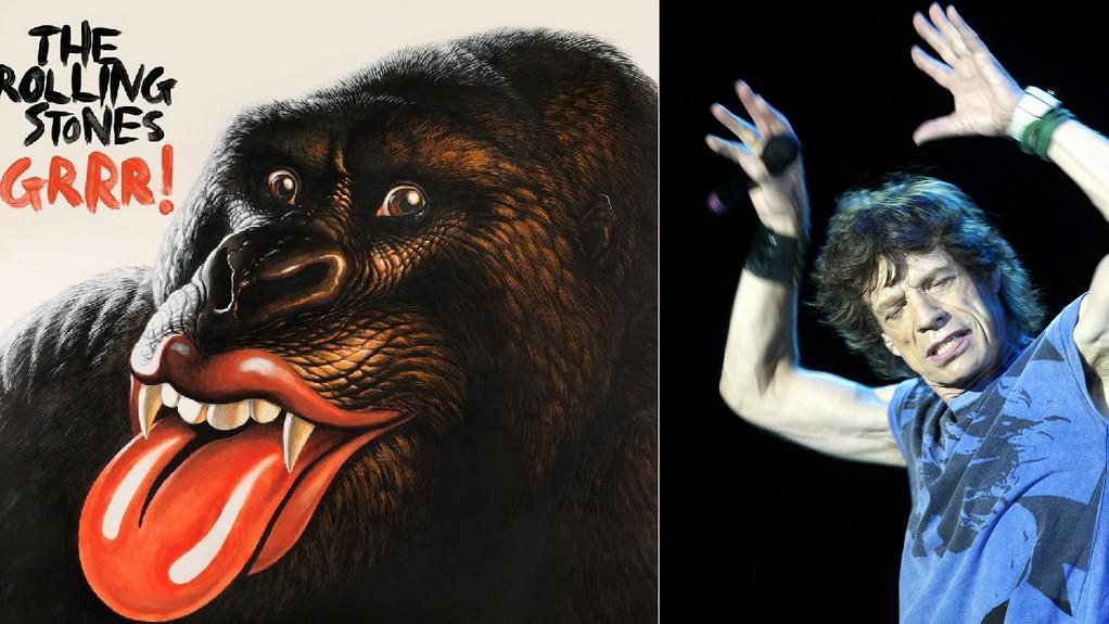 Album GRRR! a Mick Jagger