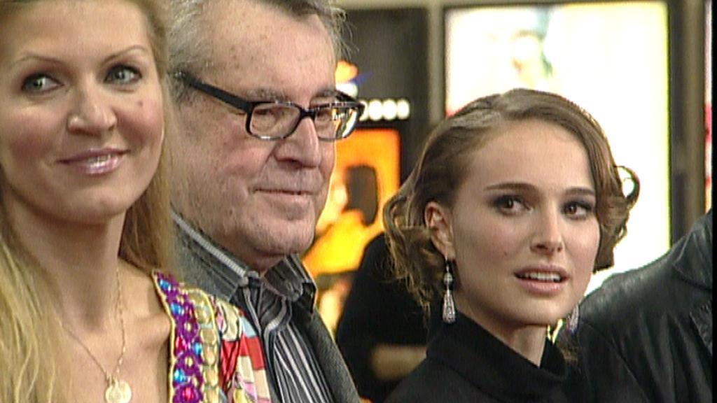 Manželé Formanovi a Natalie Portmanová