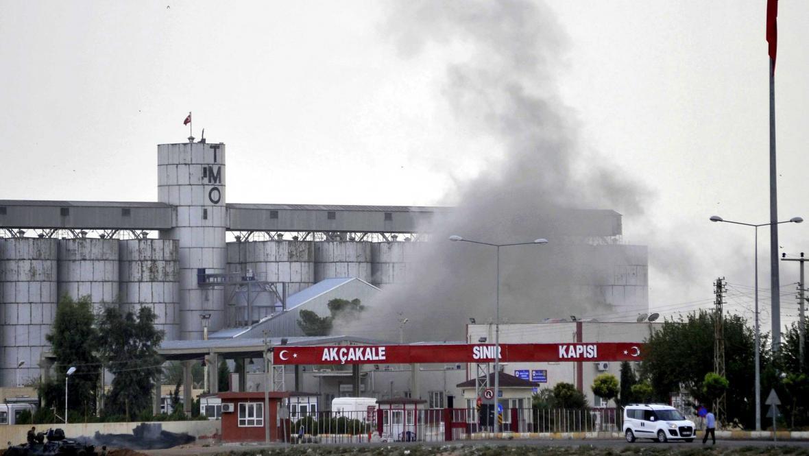 Syrská střela opět zasáhla město Akçakala