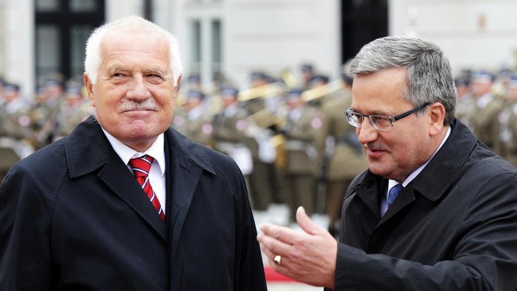 Václav Klaus v Polsku