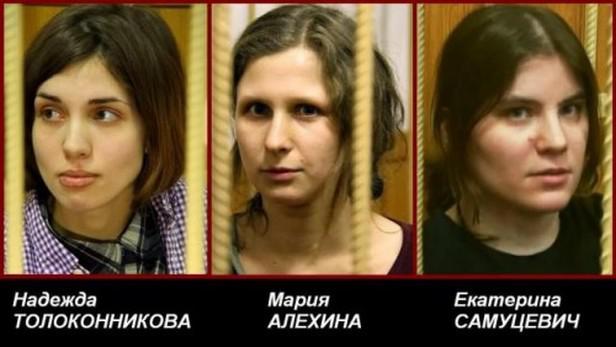Pussy Riot / zatčené členky skupiny
