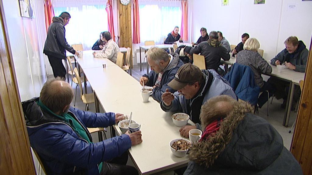 Středisko Naděje U Bulhara - výdejna jídla