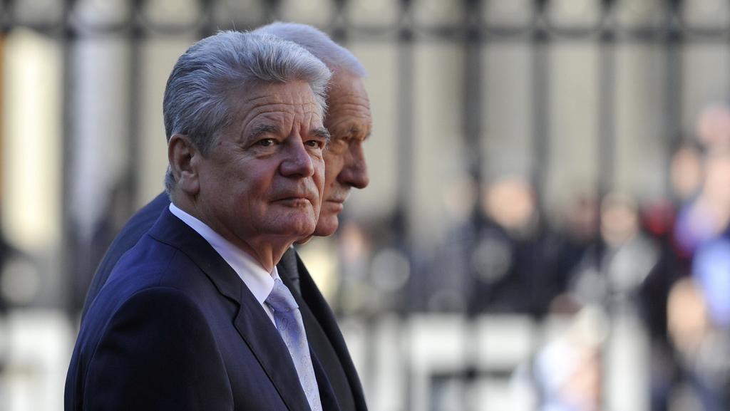 Joachim Gauck na návštěvě Česka
