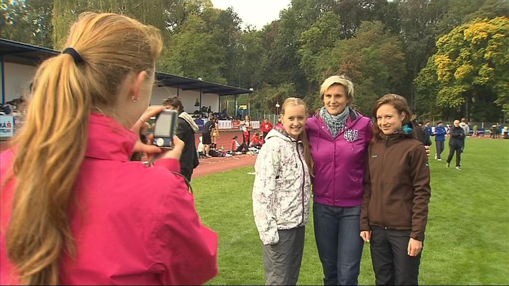 Barbora Špotáková je vzorem většiny mladých atletických nadějí