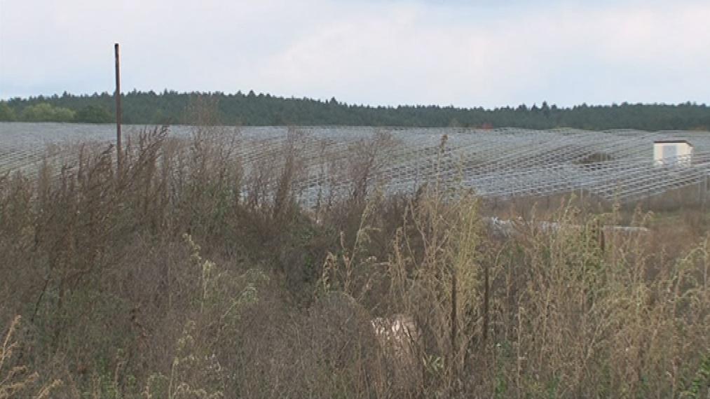 Pole nad Ráječkem leželo ladem, elektrárna tu nikdy nefungovala