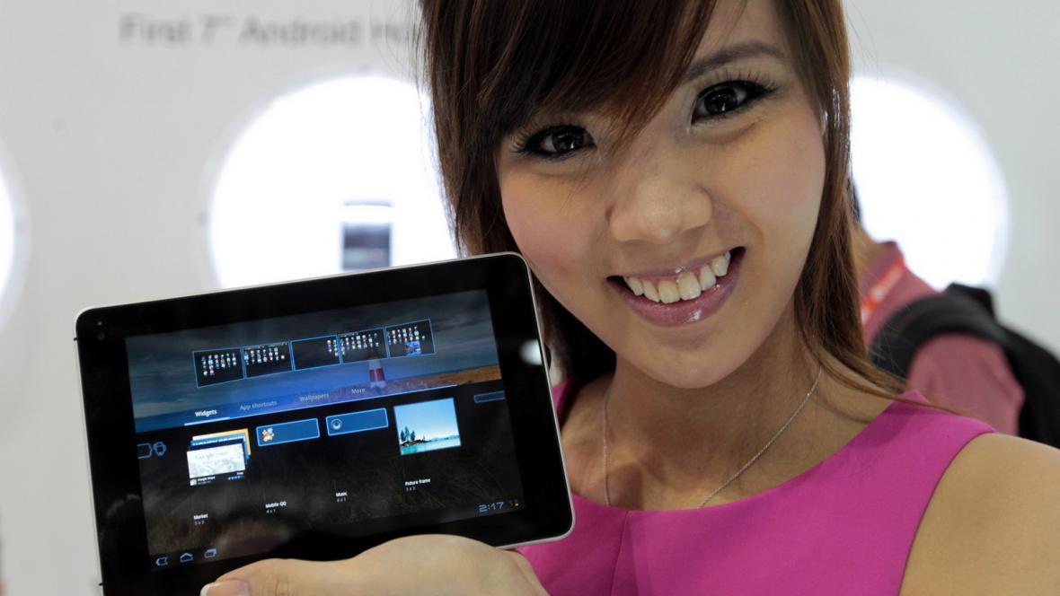 Mobilní zařízení od Huawei