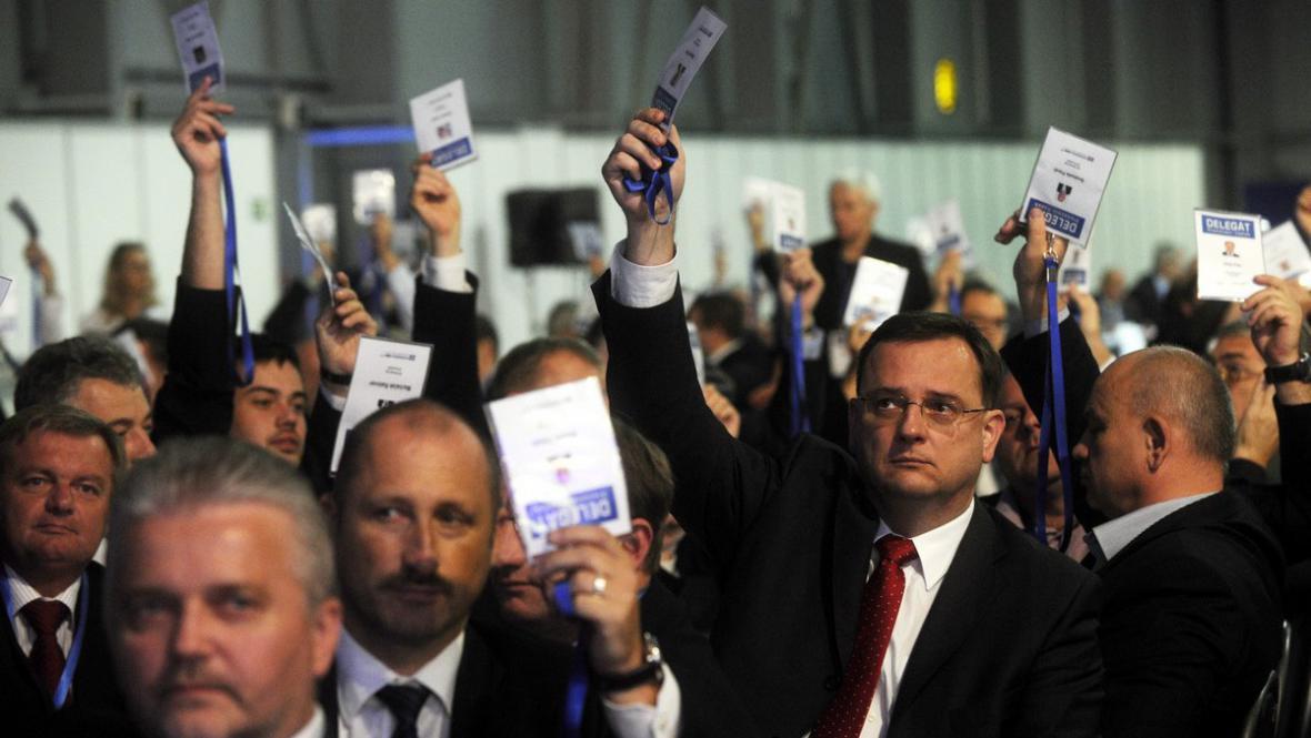 Delegáti kongresu ODS