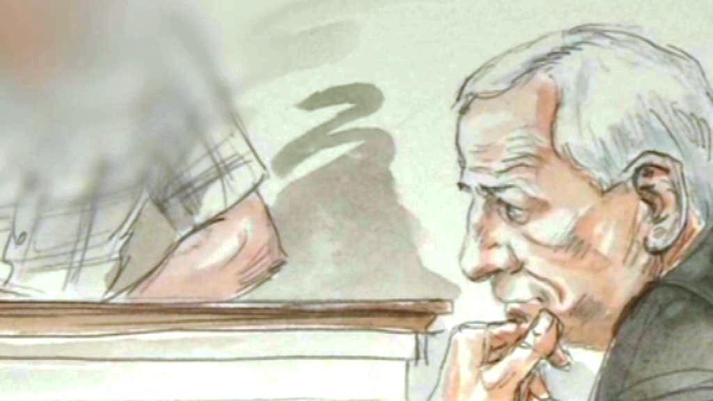 Jerry Sandusky u soudu