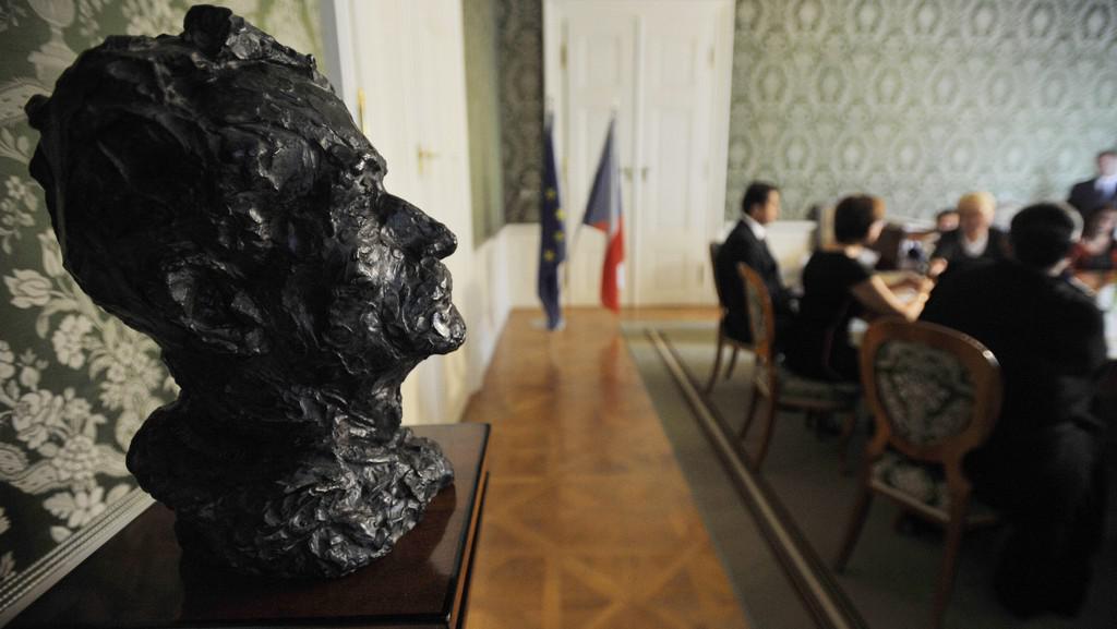 Busta F. Kupky od Jana Vlacha
