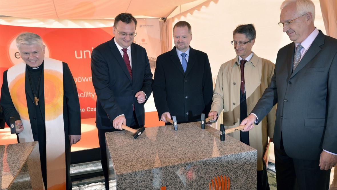 Zahájení výstavby superlaseru v Dolních Břežanech