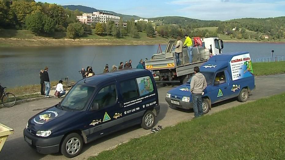 Do přehrady se dnes pod dohledem odborníků vrátily ryby