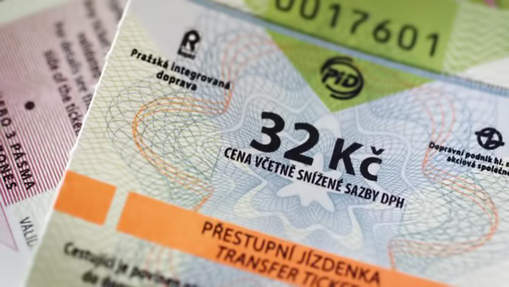 Jízdenky v pražské MHD