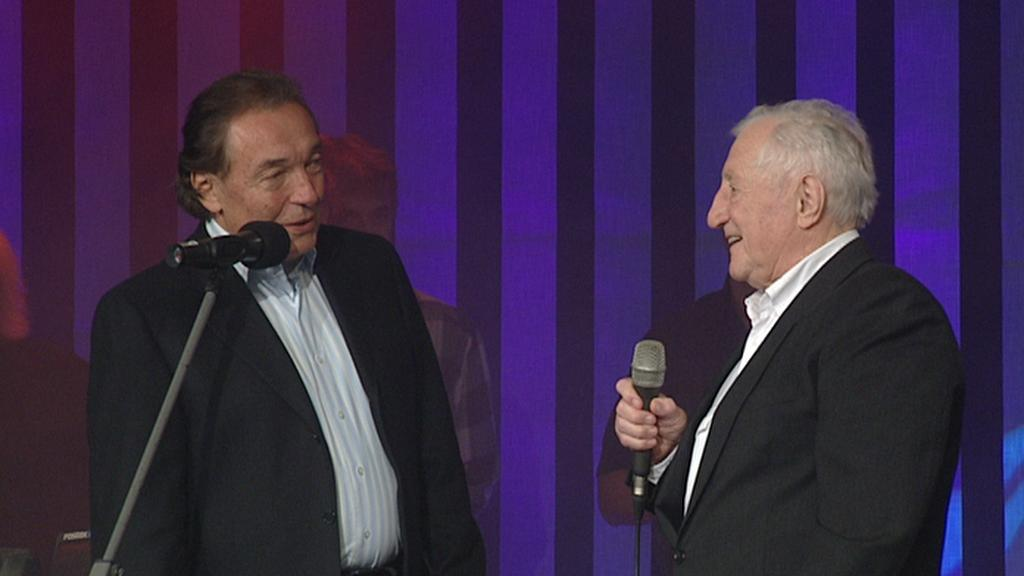Karel Gott a Pavel Bobek