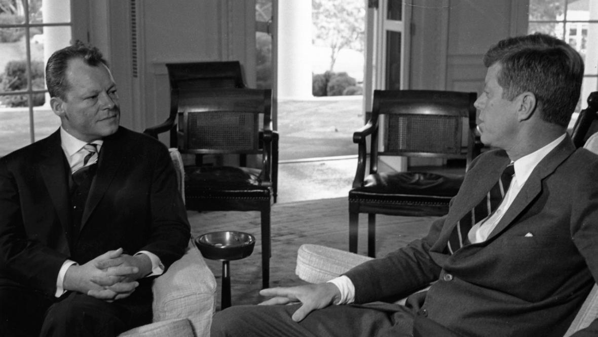 Willy Brandt a John F. Kennedy