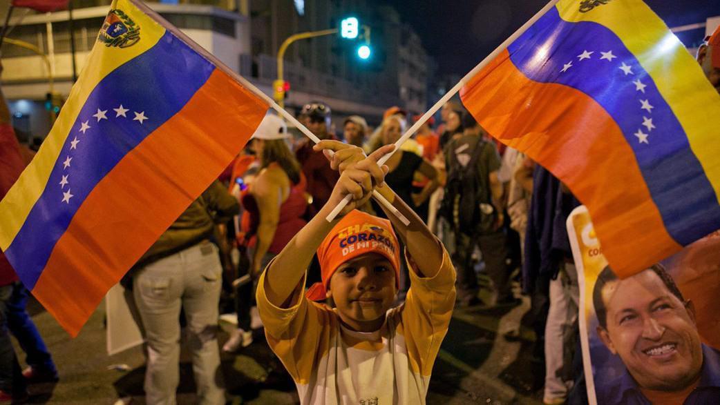 Oslavy Chávezova znovuzvolení