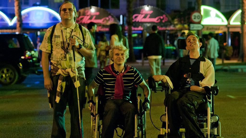 paraplegický sex video