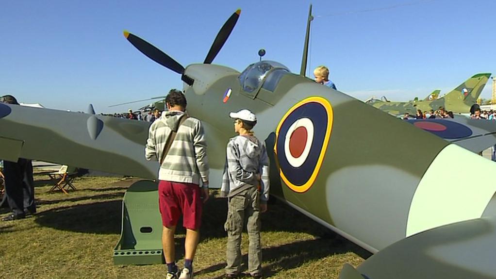 Model letounu Spitfire
