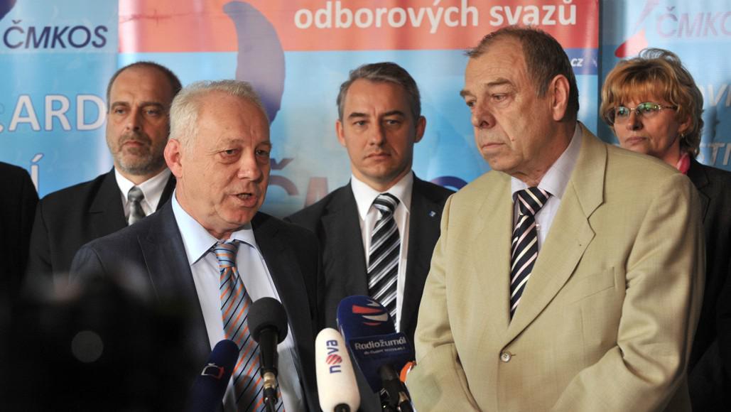 Bohumír Dufek a Jaroslav Zavadil