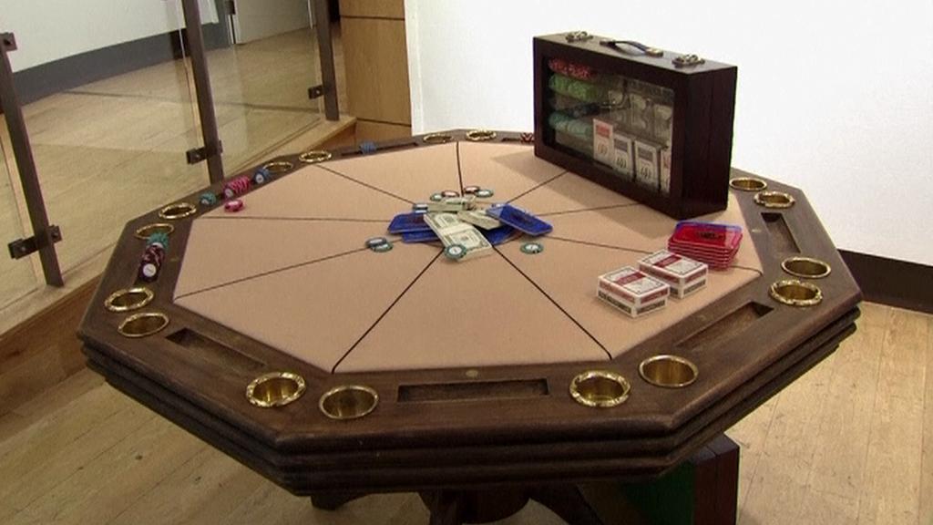 Pokerový stůl Jamese Bonda
