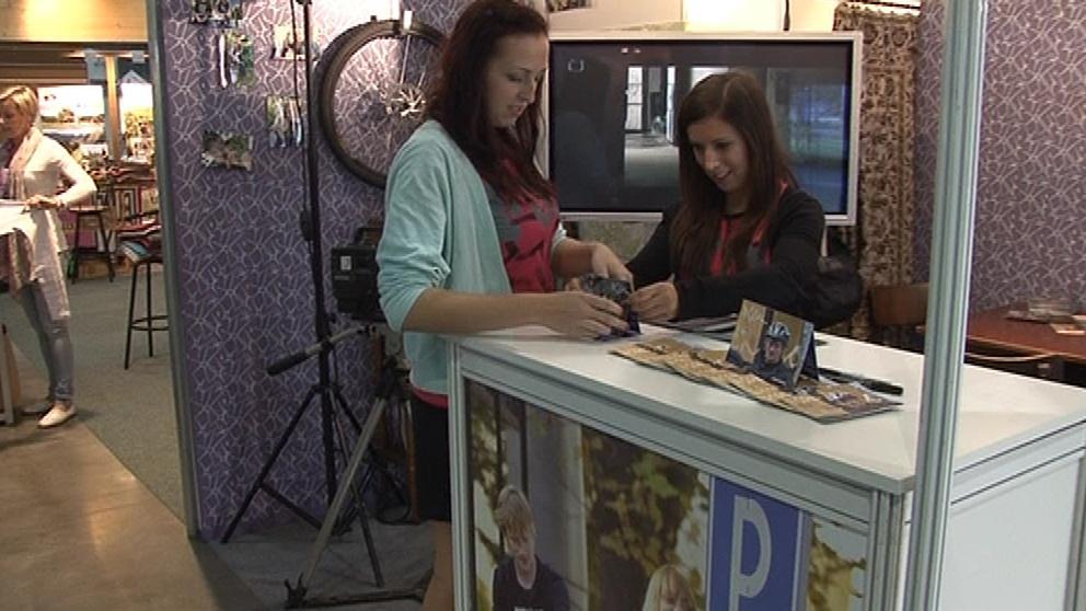 Prezentační stánek k filmu Posel na veletrhu