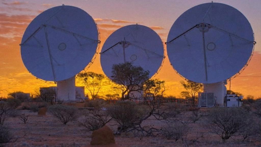 Austrálie představila obří radioteleskop