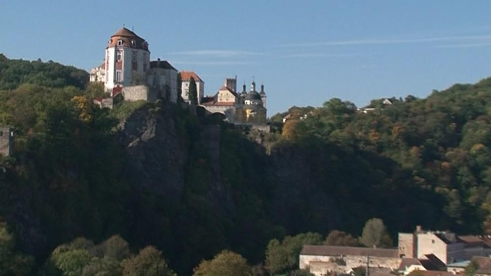 Vranovský zámek je ve skutečnosti gotická pevnost
