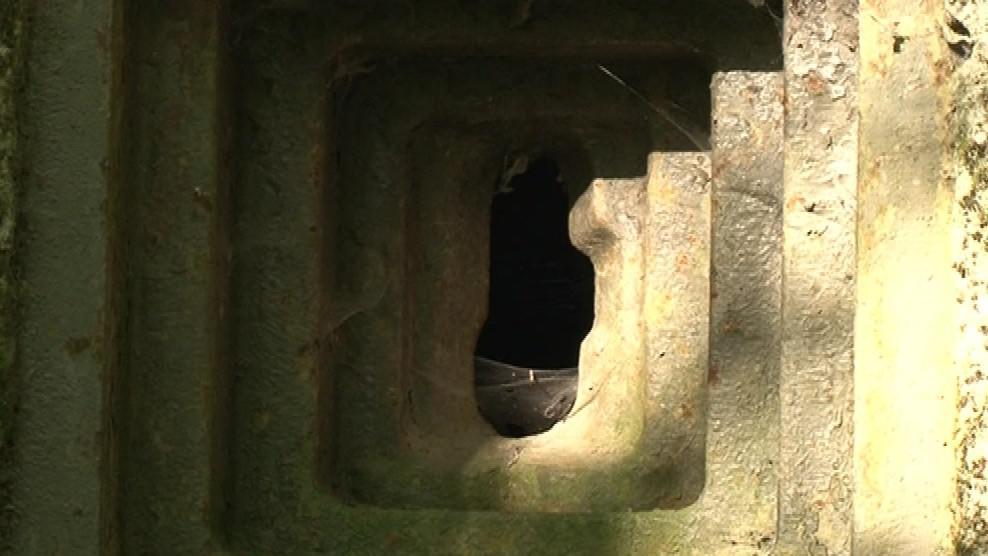 Bunkry tvořily vrstvy betonu