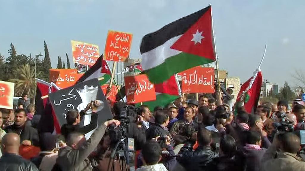 Demonstrace v Jordánsku