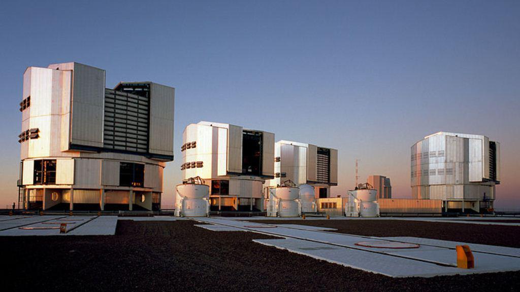 Dalekohledy VLT na observatoři Paranal