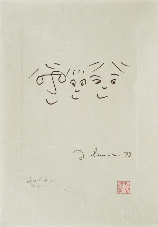 Kresba Johna Lennona