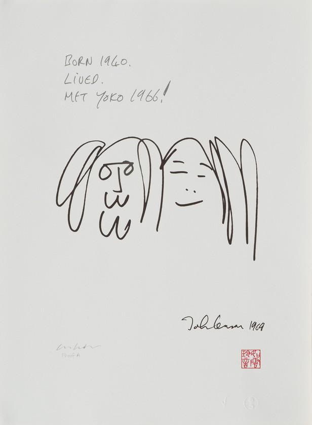Kresby Johna Lennona