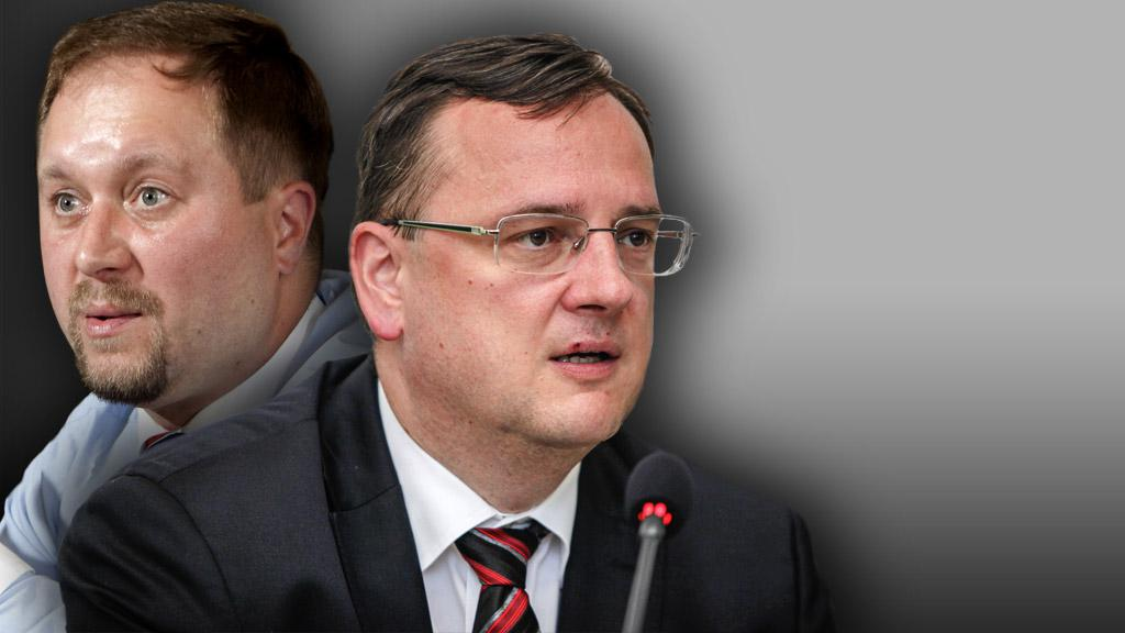 Roman Joch a Petr Nečas