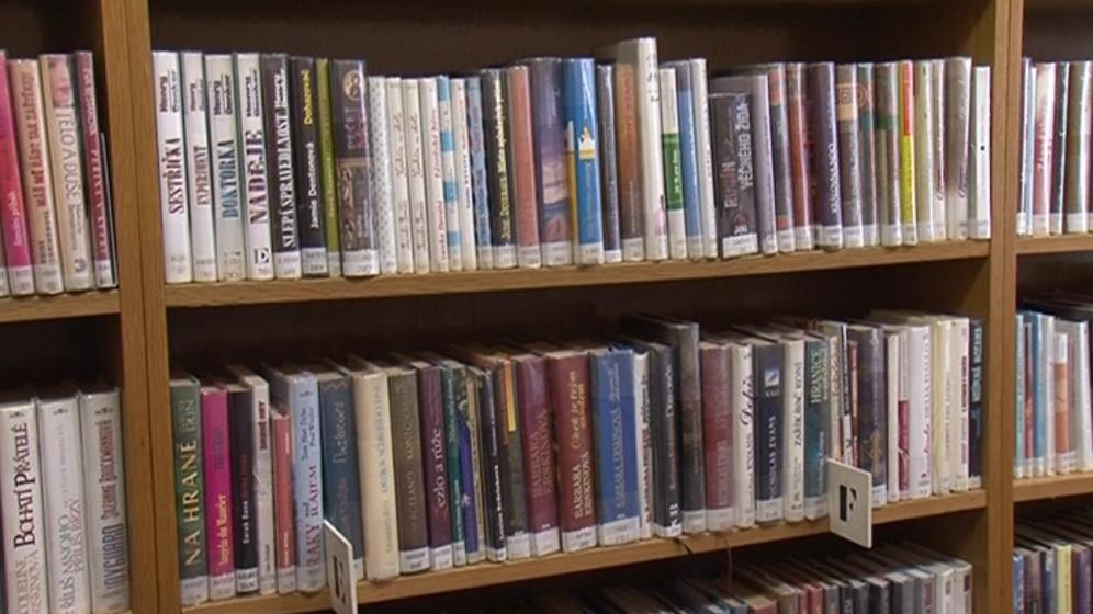 Pobočka nabízí svým čtenářům 13 tisíc knih