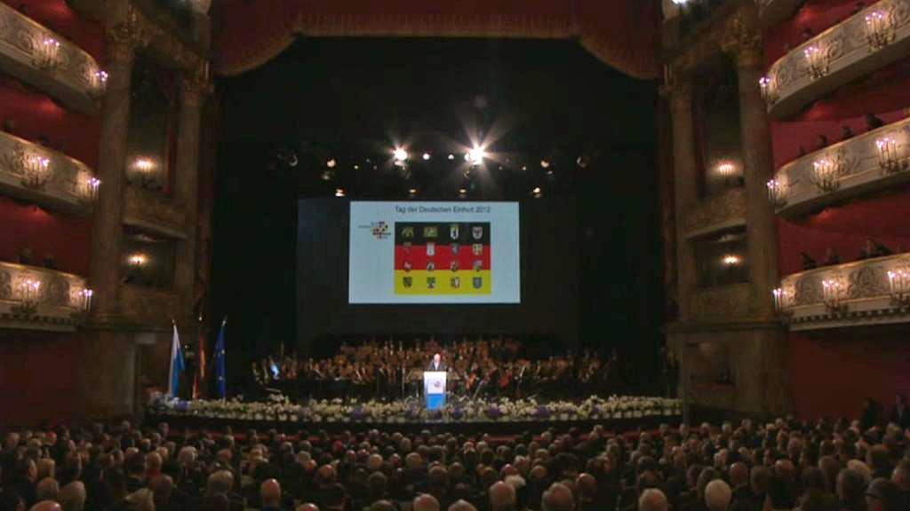 Shromáždění ke 22. výročí sjednocení Německa