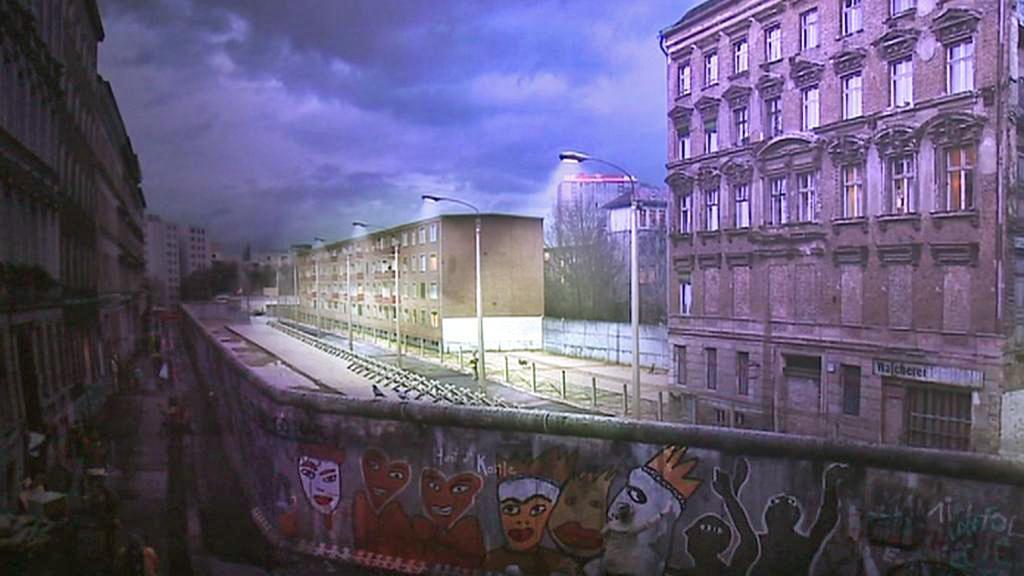 Panorama Berlínské zdi od Jadegara Aziziho