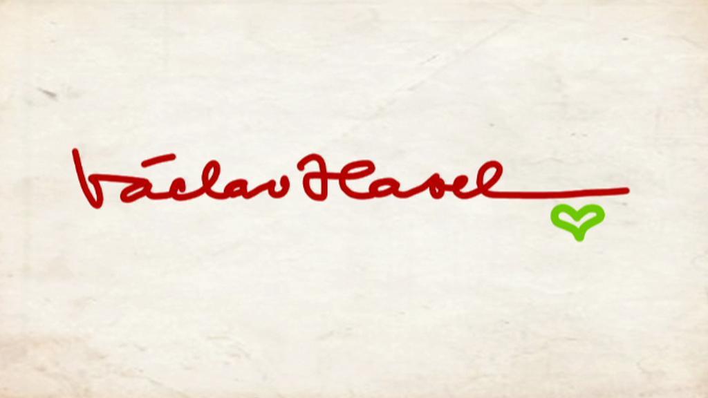 Podpis Václava Havla