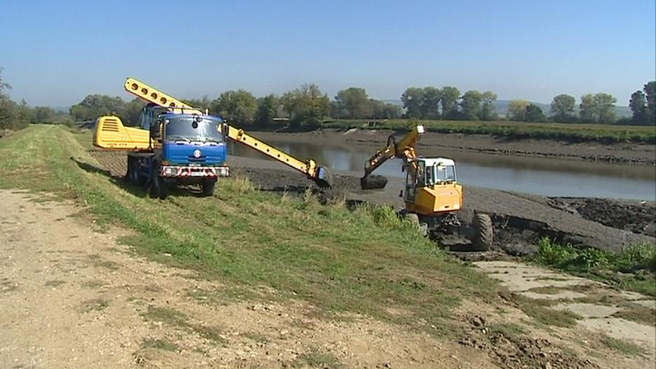 Povodí Moravy odtěží přebytečný sediment