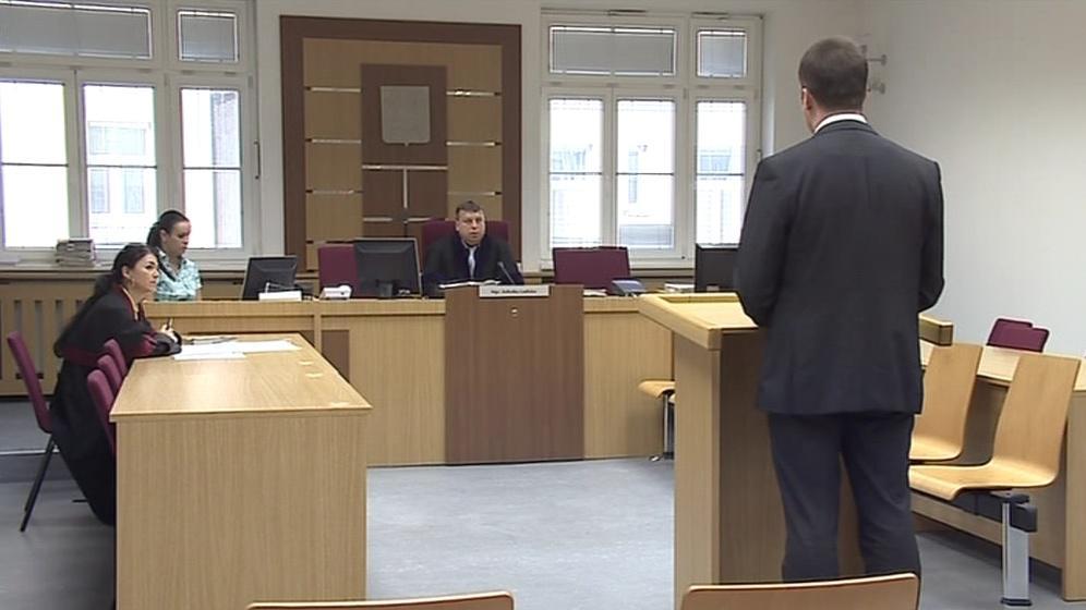 Petr Horehleď před soudem přiznal vinu