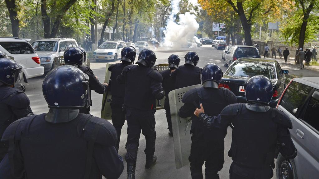 Nepokoje v Kyrgyzstánu