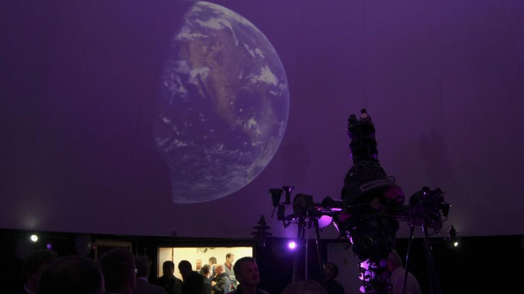 Planetárium na Gymnáziu Cheb
