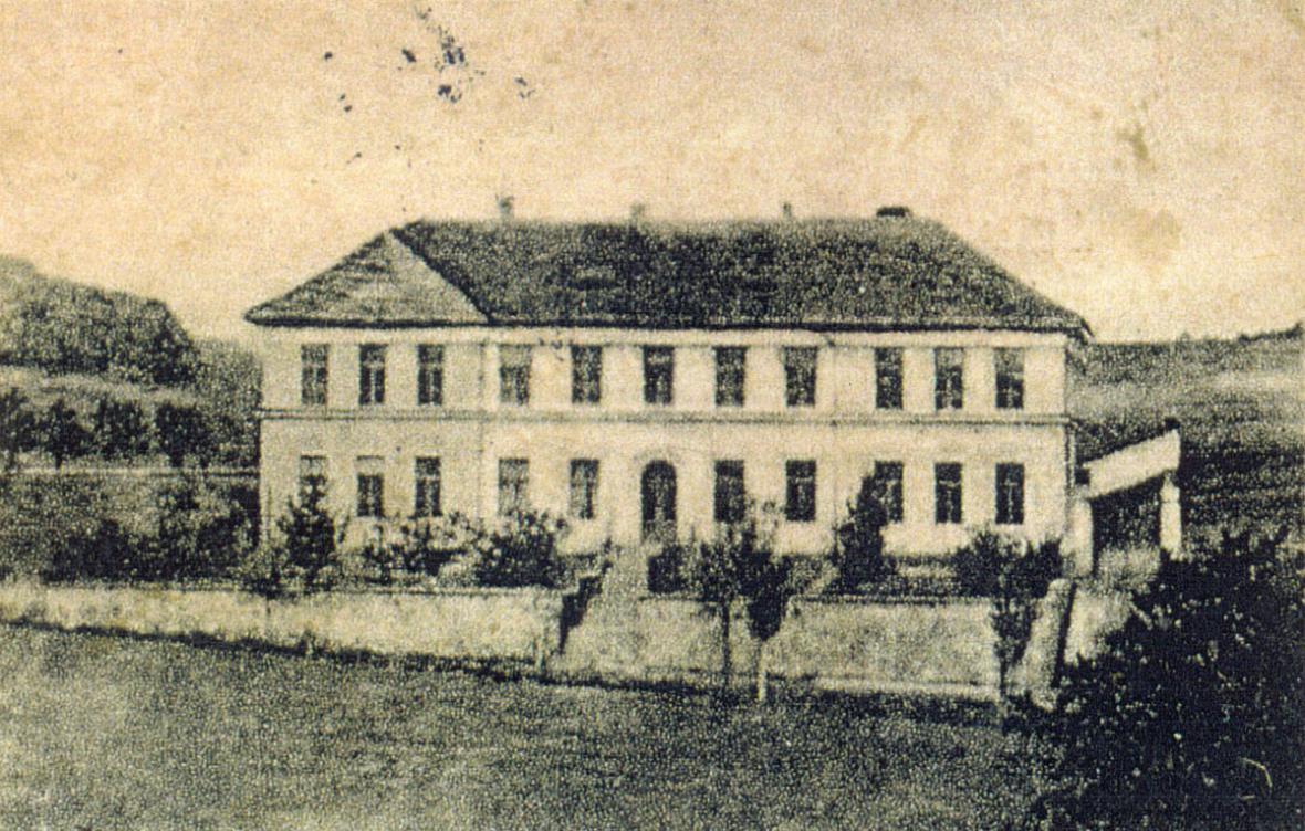 Březina - škola - 1912
