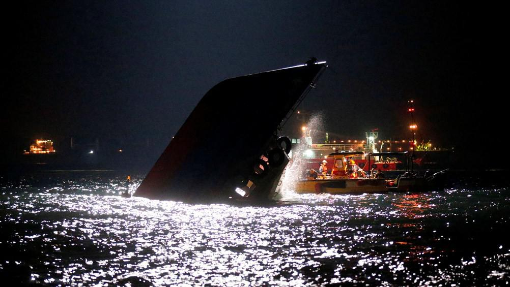 Srážka lodí u Hongkongu