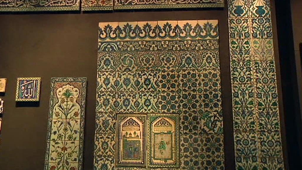 Islámská sekce v Louvru