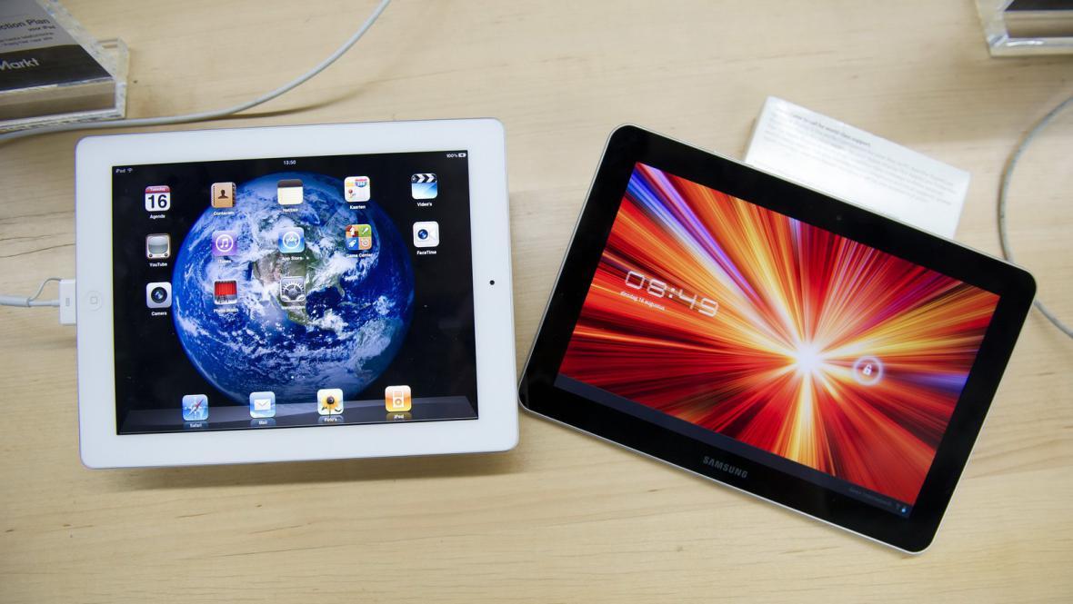 iPad2 a Samsung Galaxy Tab 10.1