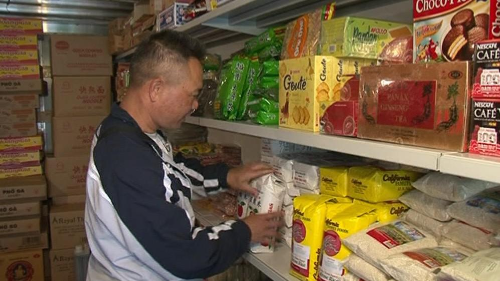 O rýži, nudle či čaje podle Jiên Le velký zájem není