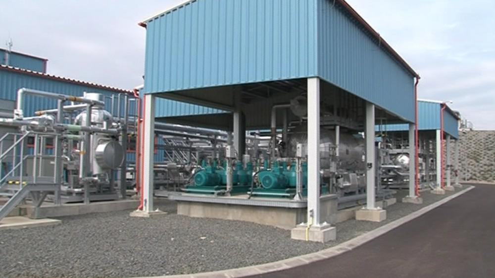 V Uhřicích vznikl nový zásobník zemního plynu
