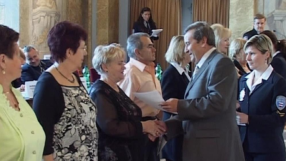 Slavnostní ukončení Senior akademie 2010