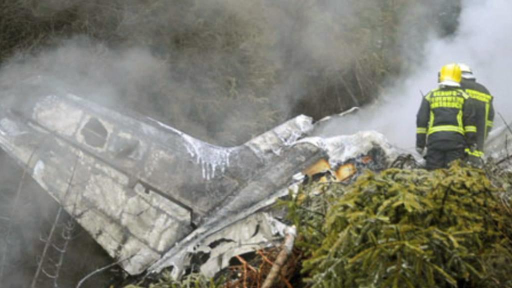 Havárie cessny v Tyrolsku
