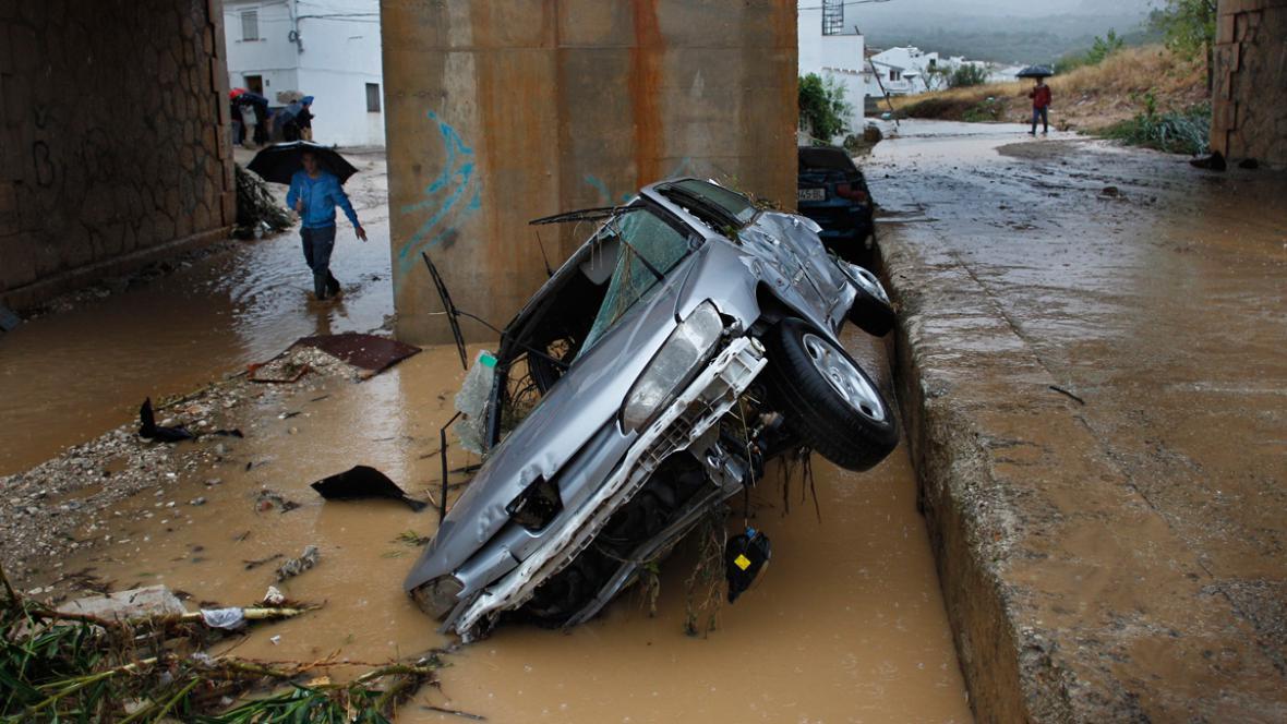 Záplavy na jihovýchodě Španělska