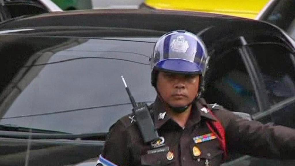 Thajská dopravní policie